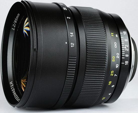 mitakon-speedmaster-85mm-f1.2-photo Mitakon Speedmaster 85mm f/1.2 lens to be announced soon Rumors