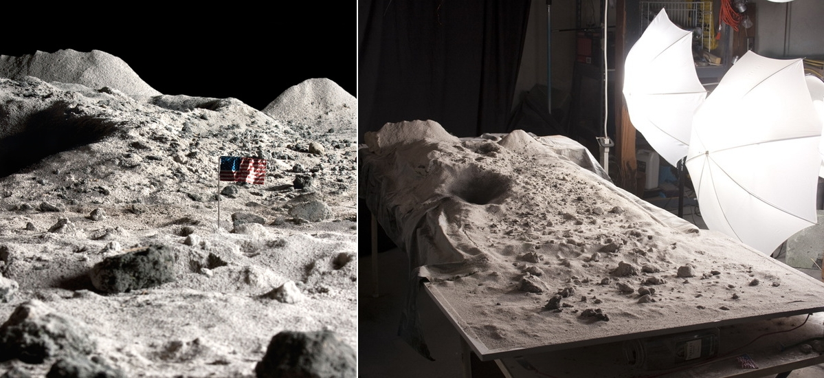 moon-landing Amazing landscape photos are actually cleverly-built dioramas Exposure