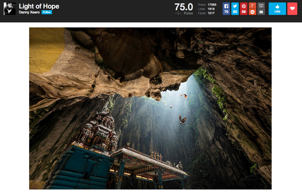 new-500px-design New 500px Photo Page design begins rolling out to all users News and Reviews