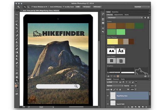 New Adobe CC update