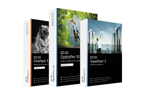 New DxO software