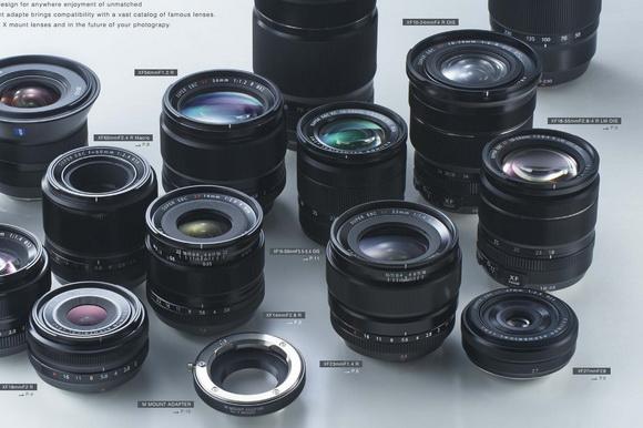 New Fujifilm lenses