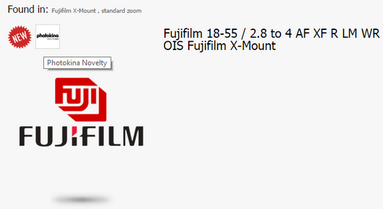new-fujifilm-weathersealed-lens Fujifilm XF 18-55mm f/2.8-4 R LM WR OIS lens could be in the works Rumors