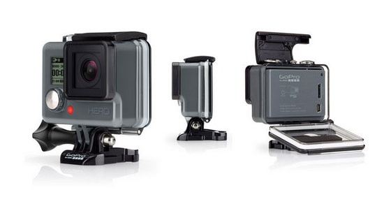 new-gopro-hero GoPro Hero4 Black and Silver unveiled along with low-end Hero News and Reviews