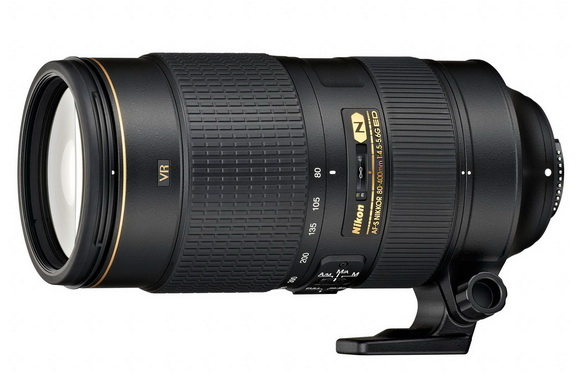 The new Nikon AF-S Nikkor 80-400mm super-telephoto lens has the fastest autofocus systems in its class