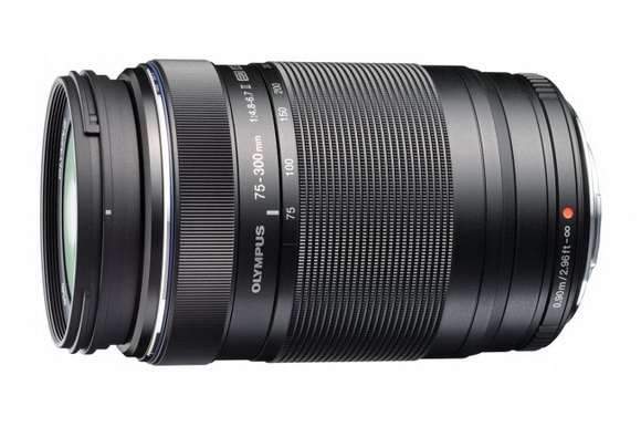 The newly-designed Olympus M.Zuiko ED 75-300mm Lens re-launched for Micro Four Thirds