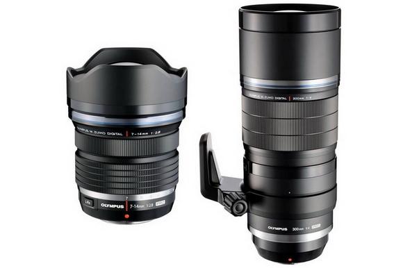 New Olympus PRO lenses