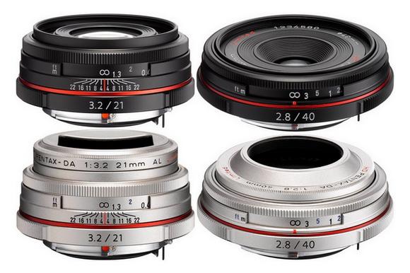 New Pentax lenses