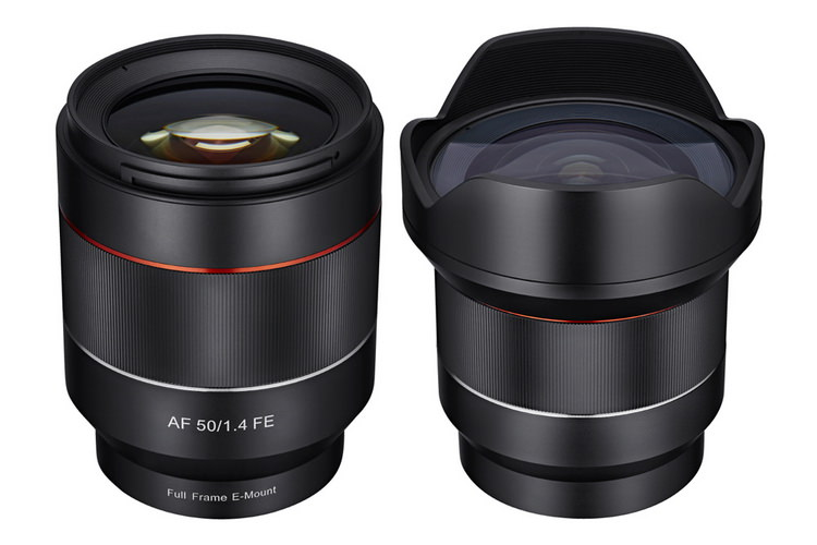 new-samyang-14mm-f2.8-and-50mm-f1.4-lenses Samyang 14mm f/2.8 and 50mm f/1.4 lenses unveiled with AF support News and Reviews