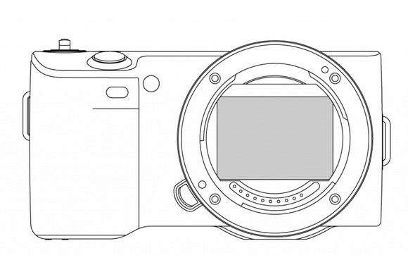 New Sony NEX-FF camera
