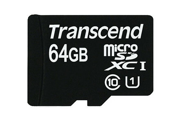 New Transcend 64GB microSDXC UHS-I memory card available for purchase now