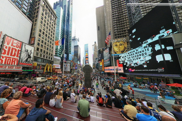 New York 360-degree panorama photo