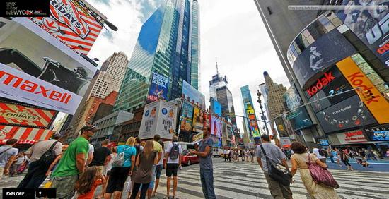 new-york-360-degree-panorama-times-square Photographer creates amazing New York City 360-degree panorama photos Exposure