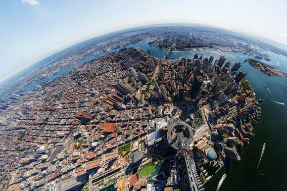 New York City gigapixel panorama