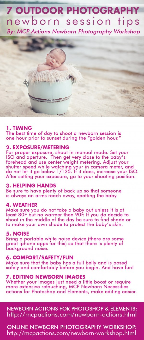 newborn-tip-sheet-600x14171 7 Tips for Your Next Outdoor Photography Newborn Session Photography Tips