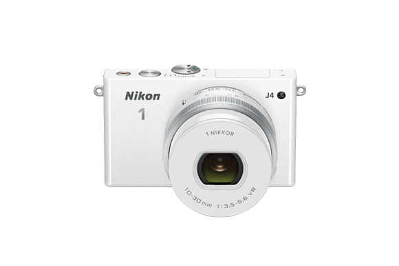 Nikon 1 J4 front