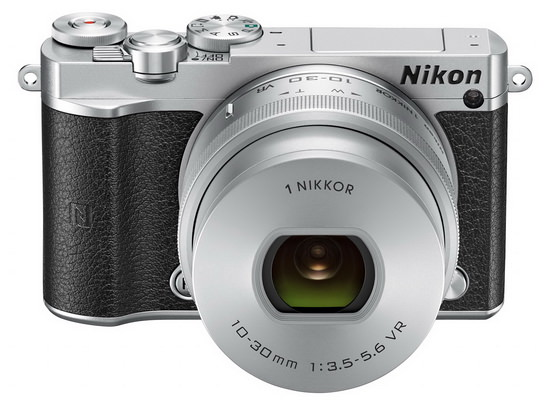 nikon-1-j5-front Nikon 1 J5 mirrorless camera announced with 4K video support News and Reviews