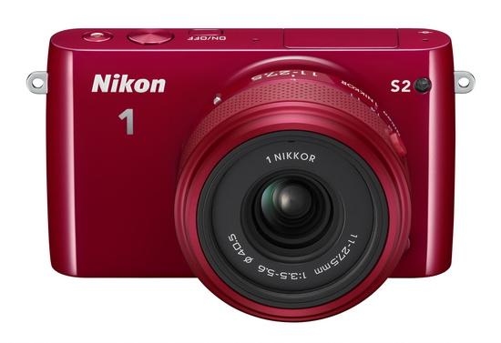 nikon-1-s2-front Nikon 1 S2 introduced as an entry-level mirrorless camera News and Reviews