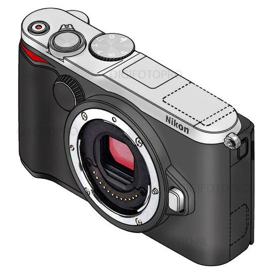 nikon-1-v3-design Nikon 1 V3 specs leaked ahead of camera's imminent arrival Rumors