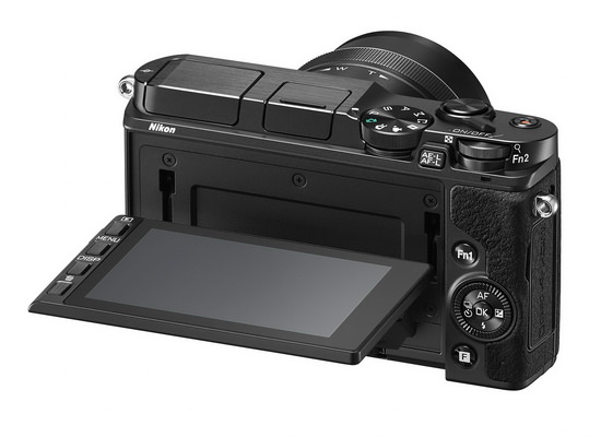 nikon-1-v3-rear Nikon 1 V3 announced with 18.4MP sensor and WiFi, but no EVF News and Reviews