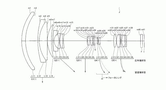 nikon-10-45mm-f4.5-5.6-patent Nikon 10-45mm f/4.5-5.6 AW lens patented Rumors