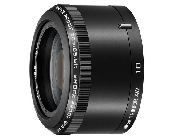 nikon-10mm-f2.8 Nikon 1 AW1 underwater camera unveiled with two new lenses News and Reviews