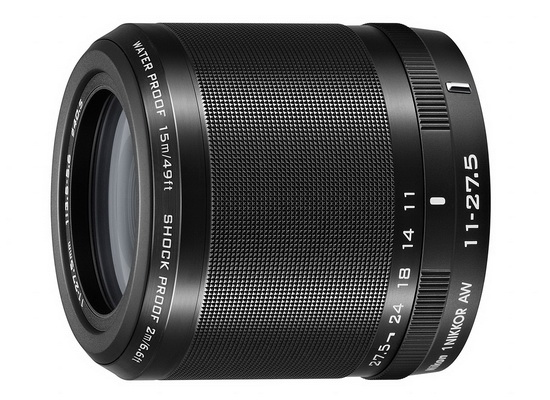 nikon-11-27.5mm-f3.5-5.6 Nikon 1 AW1 underwater camera unveiled with two new lenses News and Reviews