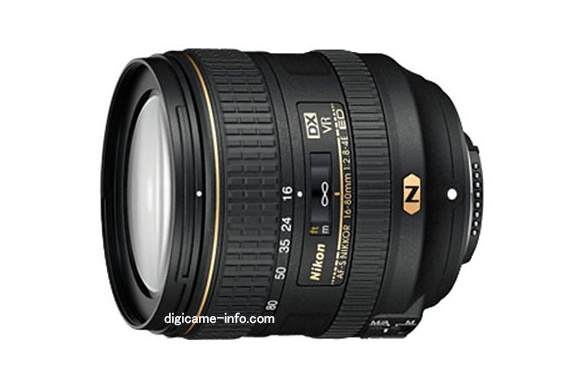 Nikon 16-80mm f/2.8-4E ED VR DX leaked