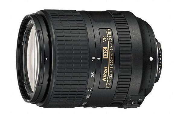 Nikon 18-300mm f/3.5-6.3G ED VR