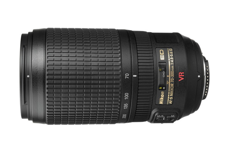 nikon 70-300mm f4.5-5.6g ed if vr lens