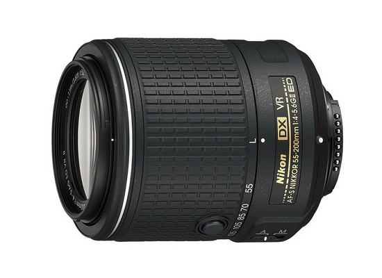 nikon-af-s-dx-nikkor-55-200mm-f4.5-5.6g-ed-vr-ii Nikon D5500 launched with few improvements over the D5300 News and Reviews