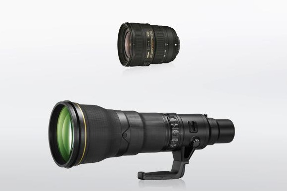 Nikon announced two new Nikkor 18-35 and 800mm lenses