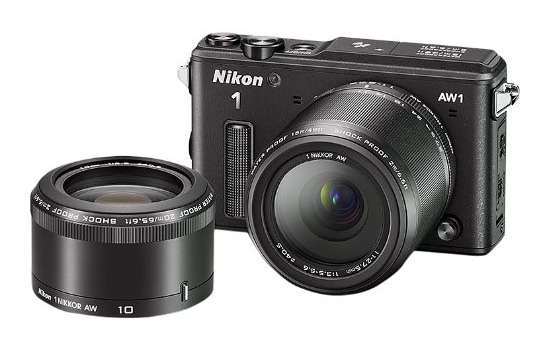 nikon-aw1-lenses Nikon to launch Nikkor 1 10-100mm f/4-5.6 lens for AW1 camera Rumors