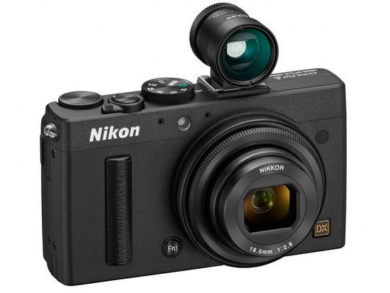 nikon-coolpix-a-optional-optical-viewfinder Nikon Coolpix A becomes the world's first DX-format compact camera News and Reviews