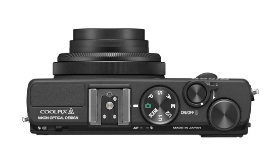 nikon-coolpix-a-top Nikon Coolpix A becomes the world's first DX-format compact camera News and Reviews