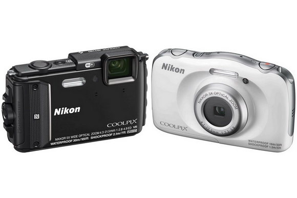 Nikon Coolpix AW130 and S33