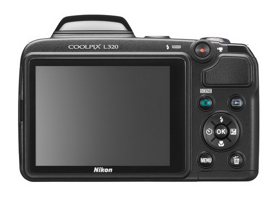 nikon-coolpix-l320-back Nikon reveals Coolpix L320 16-megapixel superzoom camera News and Reviews