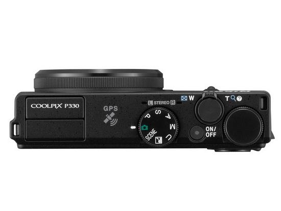 nikon-coolpix-p330-top Nikon Coolpix P330 officially announced News and Reviews