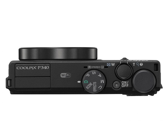 nikon-coolpix-p340-top Nikon Coolpix P340 compact camera launched with WiFi and GPS News and Reviews