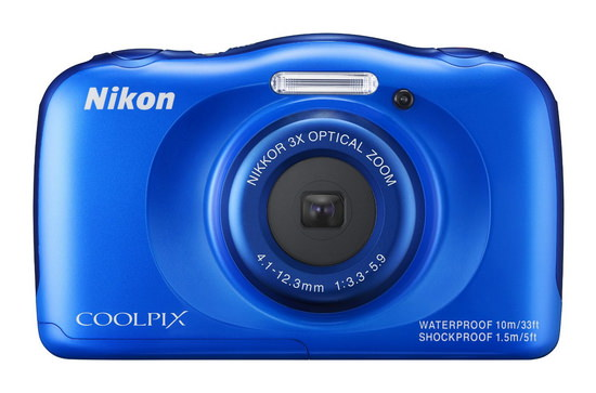 nikon-coolpix-s33 Nikon Coolpix AW130 and S33 rugged cameras announced News and Reviews