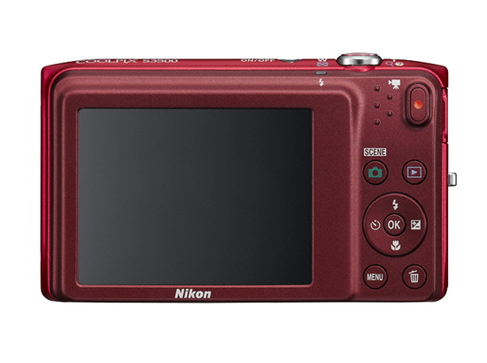 nikon-coolpix-s3500-back Nikon S3500 compact camera officially announced News and Reviews