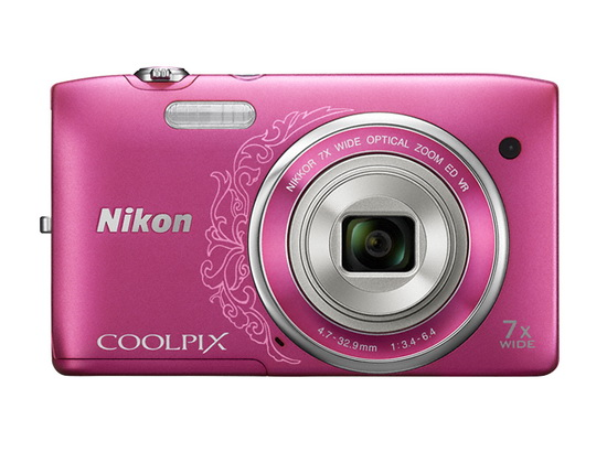 nikon-coolpix-s3500-front Nikon S3500 compact camera officially announced News and Reviews