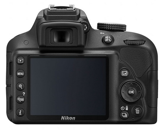 nikon-d3300-rear Nikon D3300 and 18-55mm VR II lens kit announced at CES 2014 News and Reviews