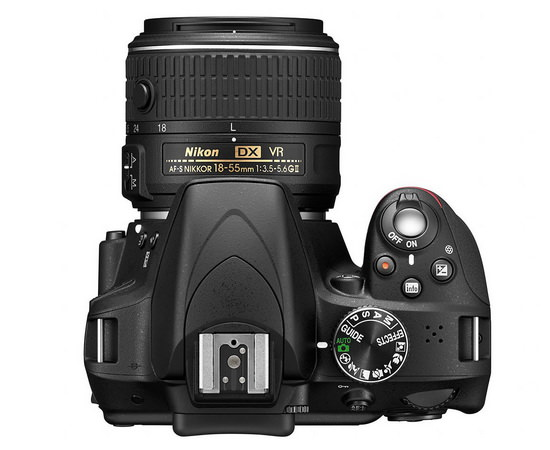 nikon-d3300-top Nikon D3300 and 18-55mm VR II lens kit announced at CES 2014 News and Reviews