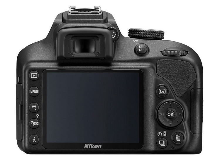 nikon-d3400-back Nikon D3400 DSLR unveiled with SnapBridge technology News and Reviews