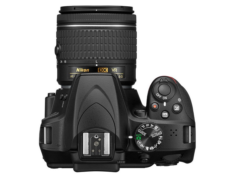 nikon-d3400-top Nikon D3400 DSLR unveiled with SnapBridge technology News and Reviews