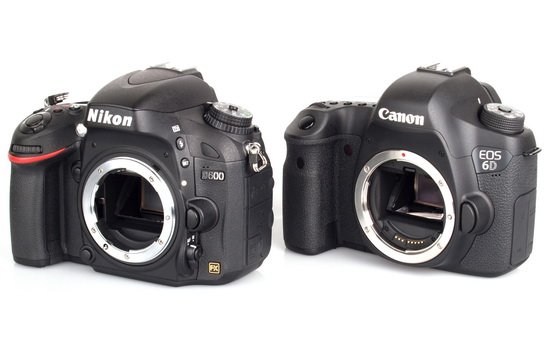 nikon-d600-and-canon-6d Cheaper Sony NEX-FF camera price near the prices of Canon 6D and Nikon D600 Rumors