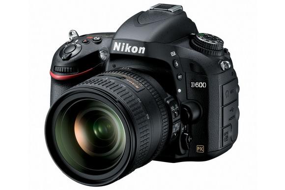 Nikon D600 camera