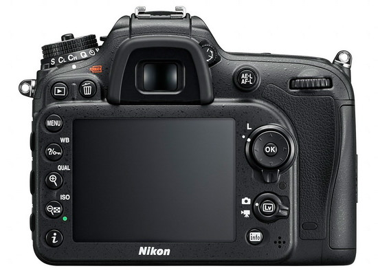 nikon-d7200-back Nikon D7200 officially unveiled with several enhancements over the D7100 News and Reviews