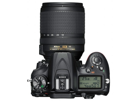 nikon-d7200-top Nikon D7200 officially unveiled with several enhancements over the D7100 News and Reviews